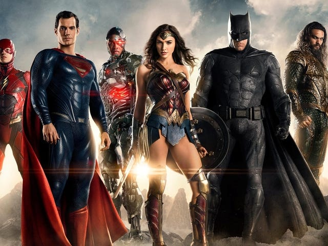 Justice League Possibly Filming Major Re-shoots