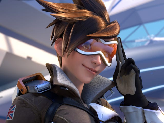 Overwatch's Tracer Is The Best And I Love Her