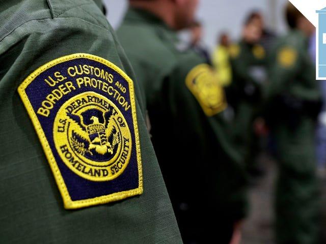 Cóż, na pewno wydaje się, że jest wielu rasistowskich i seksistowskich agentów straży granicznej