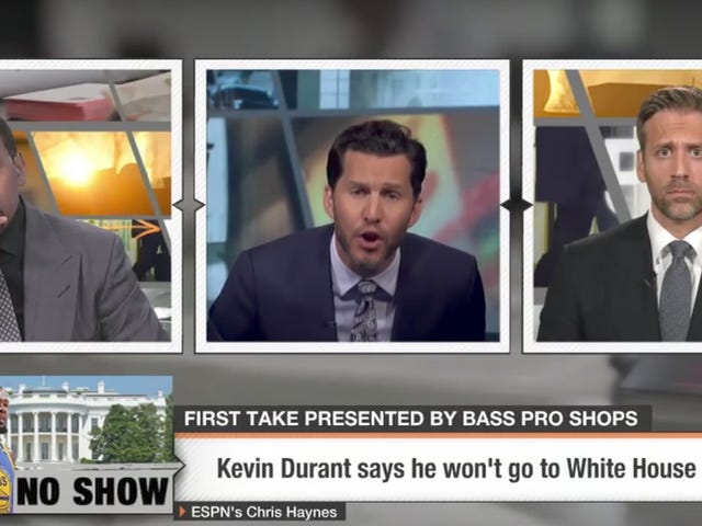 This First Take Segment Is Really Something