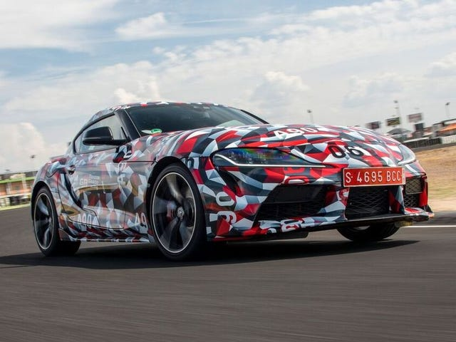 The 2019 Toyota Supra Is a BMW Parts Bin Car