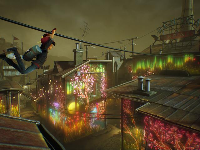 다가오는 Painting Platformer <i>Concrete Genie</i> 는 다른 종류의 PlayStation Studio에서 제공됩니다.