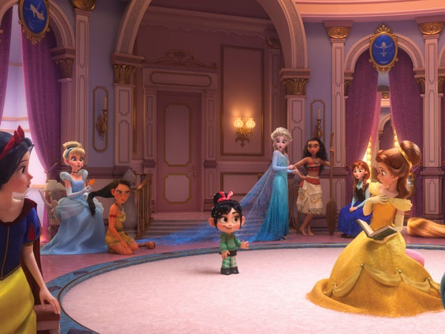 How the Disney Princess Scene in Ralph Breaks the Internet Came to Be