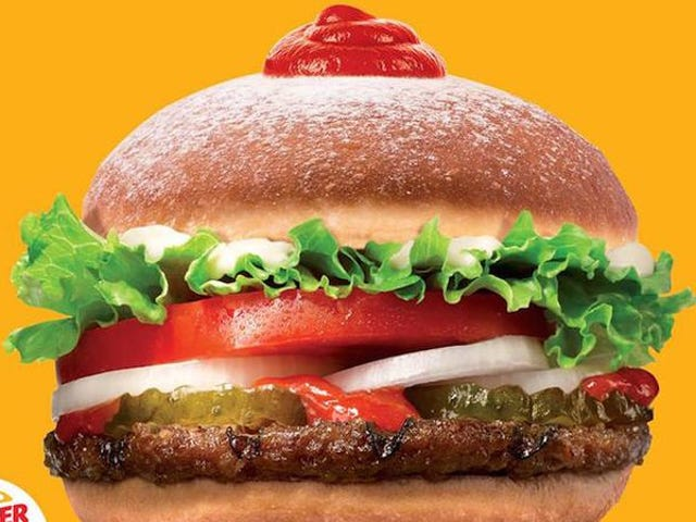Burger King's ketchup-piped doughnut Whopper is a better idea than it sounds
