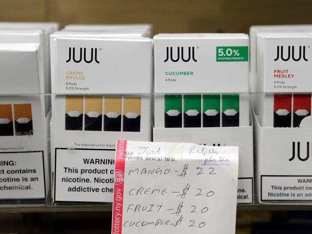 El gobernador de Nueva York, Andrew Cuomo, dice que declarará una emergencia de salud para prohibir los cigarrillos electrónicos con sabor