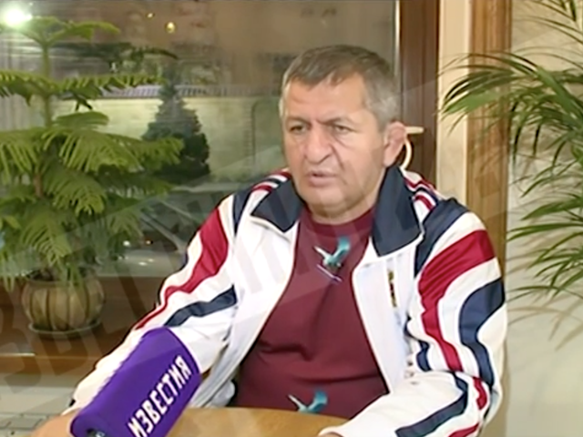 """Khabib Nurmagomedov's Dad On His Son Fighting In The Stands: """"I Am Going To Regard This Severely"""""""