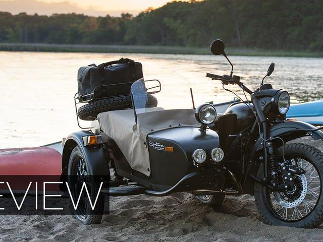 2015 Ural Sidecar Review: WWII Sovjet Tech On (En Uit) De Weg Vandaag
