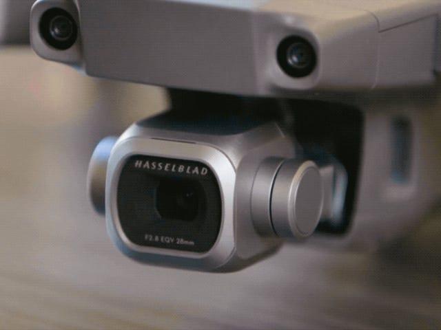 Lo mejor de los nuevos drony DJI Mavic 2 es su increíble cámara con zoom