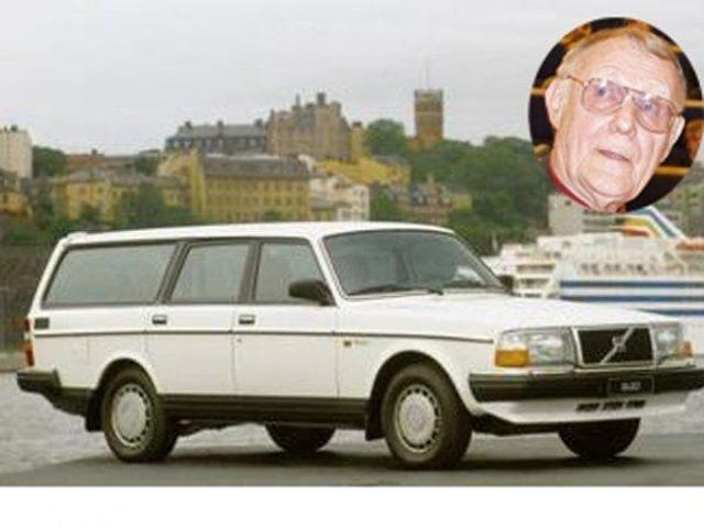 IKEA's founder drives a 1993 Volvo 245 wagon