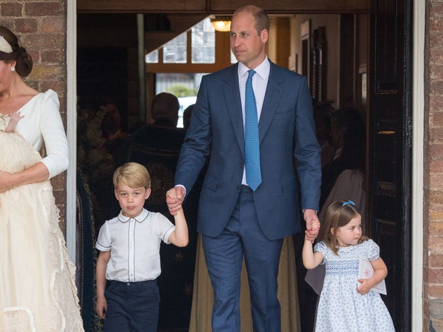 Official Royal Christening Photos Prove Prince Louis Still a Baby, Harry & Meghan Still in Love