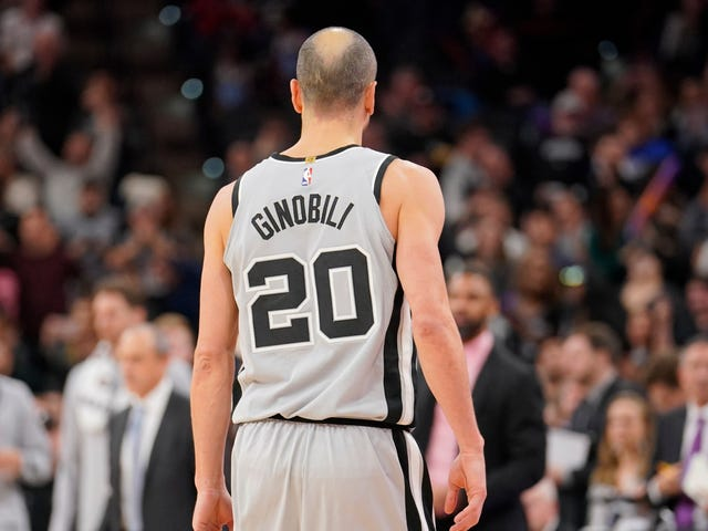 40-Year-Old Manu Ginobili Is Still Out Here Winning NBA Games
