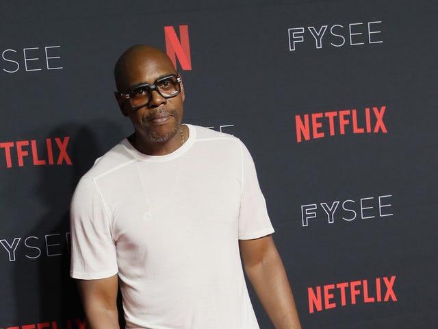 Dave Chappelle kehotti kritisoimaan Michael Jacksonin syyttäjiä uusissa Netflix-erikoisohjelmissa