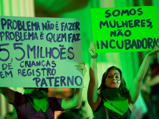 Brazil Is Reconsidering Its Bullshit Abortion Laws