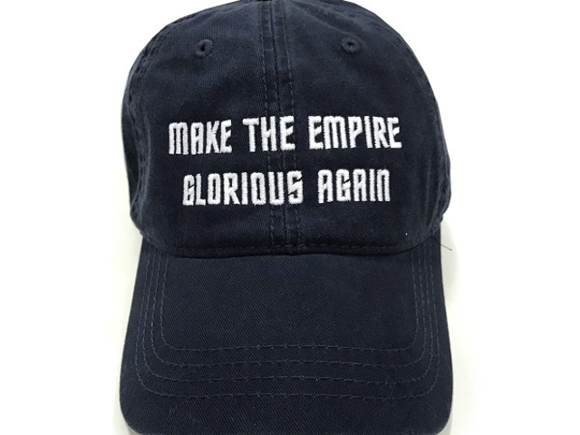 You Can Buy an Official <i>Star Trek: Discovery</i>MAGA Hat, Because Apparently We're in the Mirror Universe