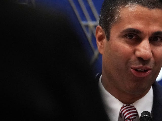 FCC Chairman Ignored Questions from U.S. Senators Over Bogus 'Cyberattack' Claims