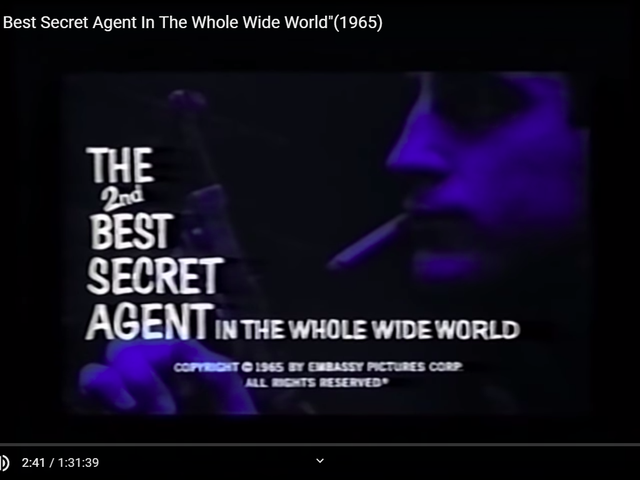 The 2nd Best Secret Agent in the Whole Wide World (1965)