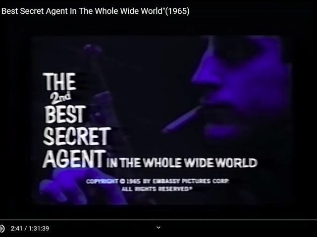 Den nest beste hemmelige agenten i hele verden (1965)