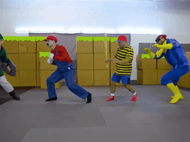 Marvel Stuntmen Recreate <i>Super Smash Bros.</i>