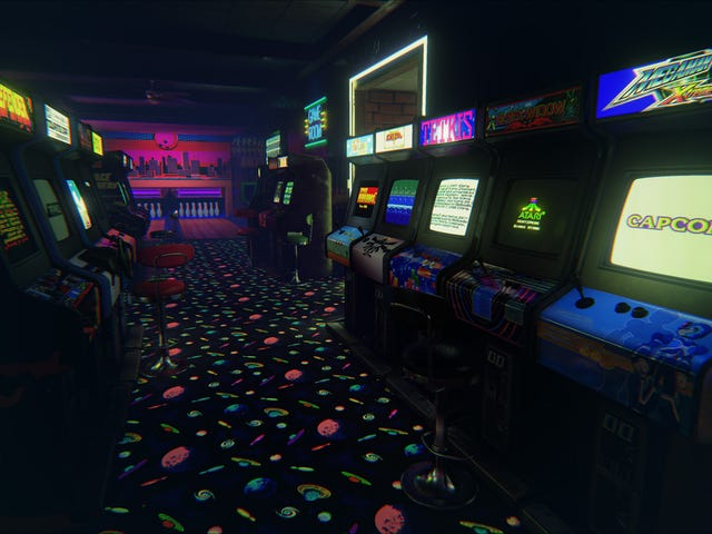 This Amazing '80s Arcade Is the Best Virtual Reality Trip Yet