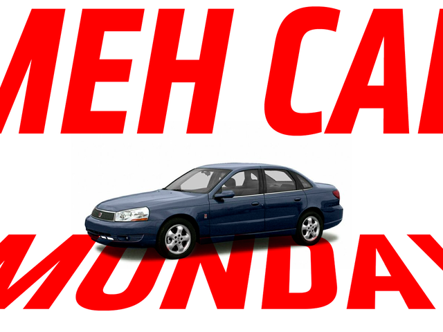 Meh Car Monday: Don't Pretend Anyone Even Remembers The Saturn L-Series