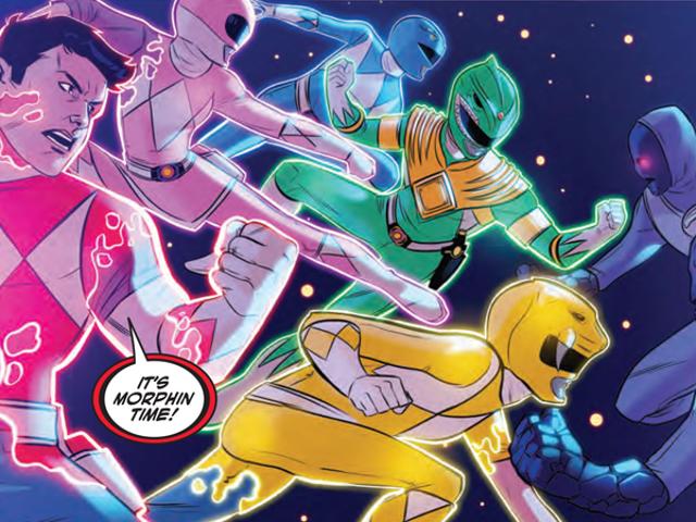 Η ομάδα πίσω από το Justice League/Power Rangers μας λέει για τις χαρές των Crossovers (και Giant Mastodons)