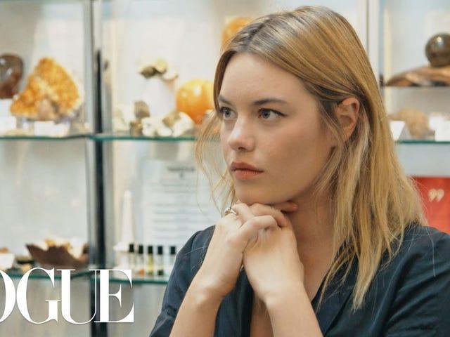 私は<i>Vogue</i>の新しいウェルネスシリーズで私の役割をどのように着陸させたか