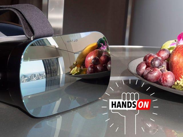 'Human Eye Resolution' VR é um prazer se você souber onde olhar