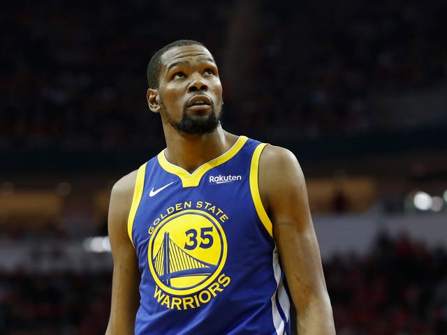 Kevin Durant Has Logged On
