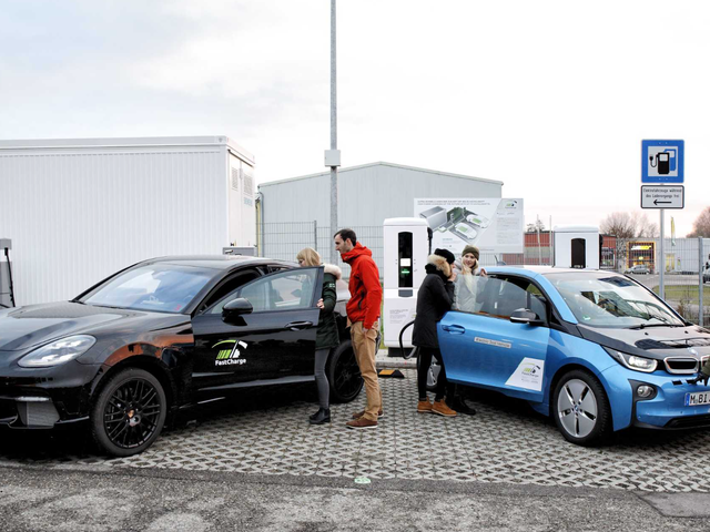 BMW and Porsche's Three-Minute Ultrafast Charger Is Here to Cure Your Range Anxiety