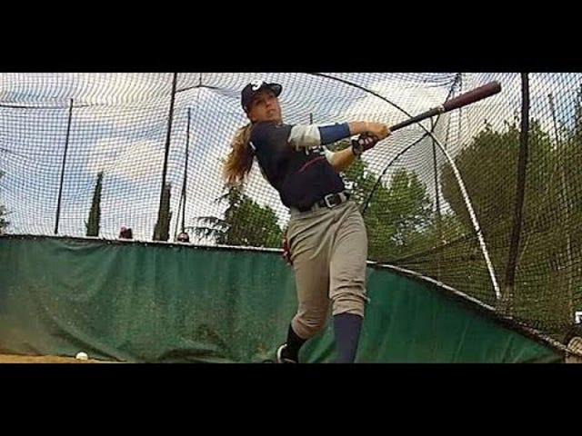 Melissa Mayeux, adolescente française de Badass, pourrait être la première femme signée par la MLB