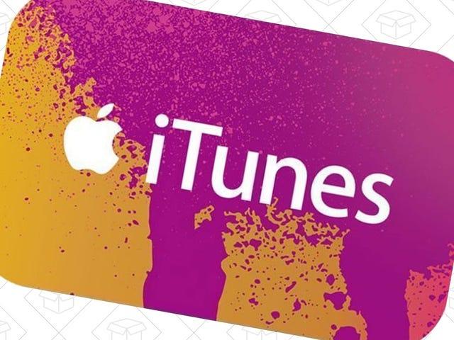 Agrega crédito a tu cuenta de iTunes con un 15% de descuento