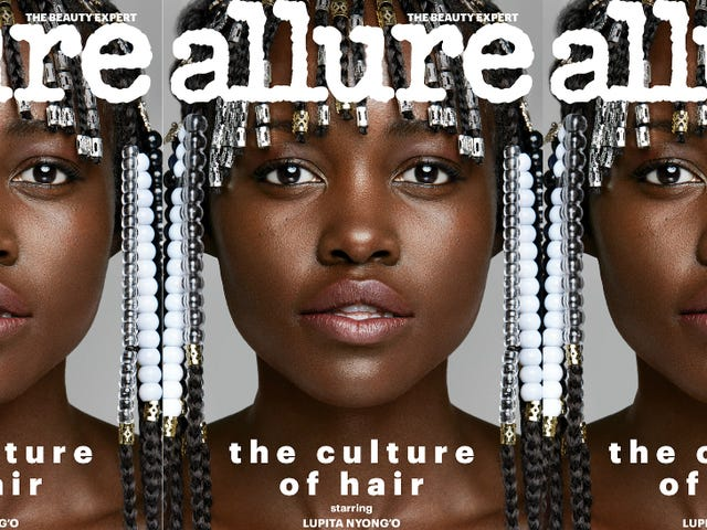 Lupita Nyong'o беседует с <i>Allure</i> об обнимании ее волос: «Я все испробовал»,