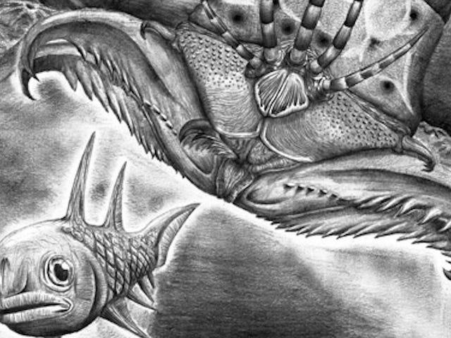 Tämä 400 miljoonan vuoden vanha mato-hirviö on metalli kuin helvetti