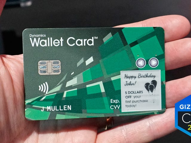 This Cellular-Connected Smart Credit Card Can Show You How Much Money You've Got Left to Spend