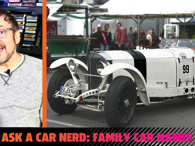 Ask A Car Nerd: What Cars Were Named For Family Members