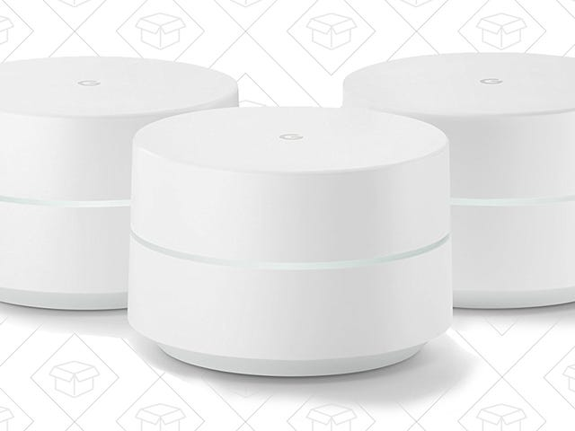 Save a Few Bucks on Google's Mesh Networking System