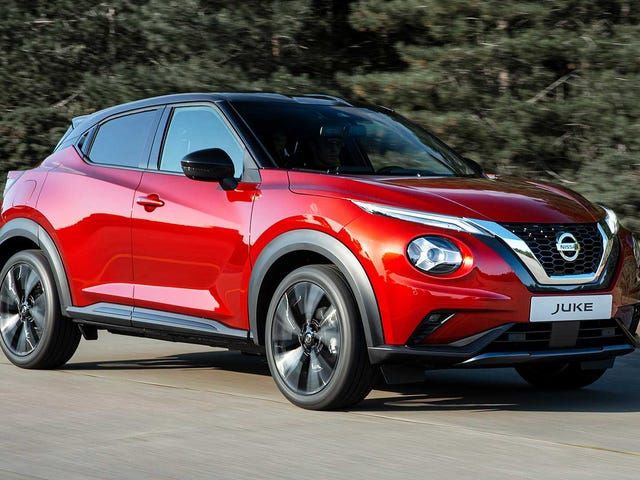 The Nissan Juke is back...for Europe