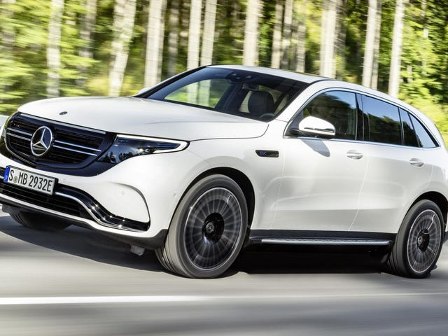 The 2020 Mercedes-Benz EQC Is The Electric SUV Future Today