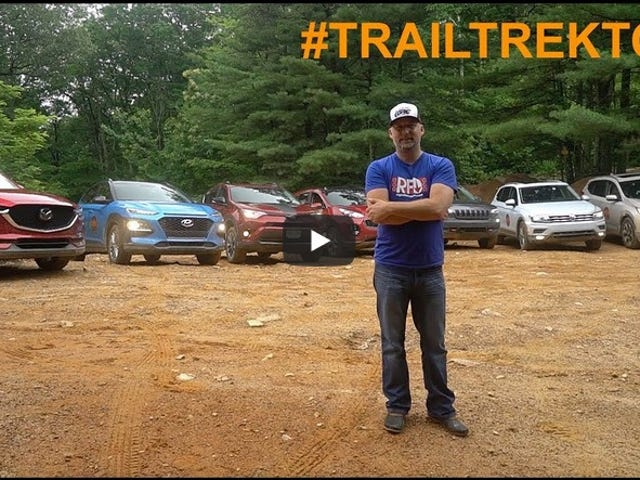 Trail Trek Tour Video - Testning 7 Crossovers Off-Road