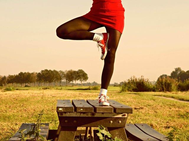 Equilibrar mejor pensando en tu pie como trípode