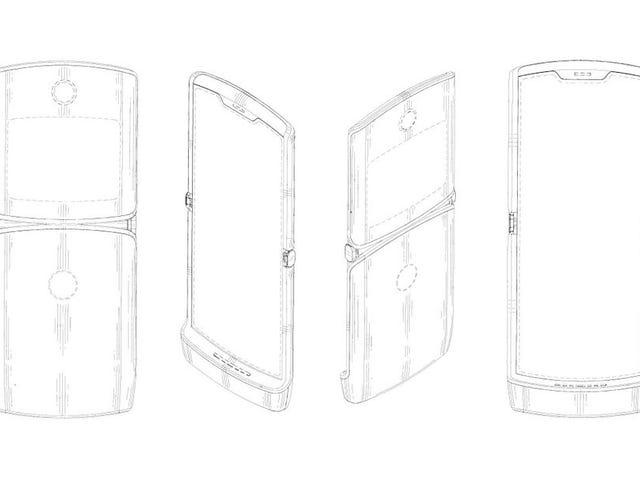 Parece que el icónico Motorola RAZR regresará una década después como teléfono plegable