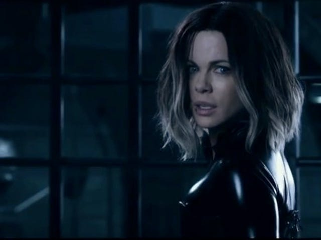 Kate Beckinsale Dons Her Leather Battlesuit Yet Again for the New <i>Underworld: Blood Wars</i> Trailer