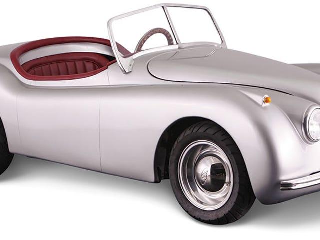 Een kleine, bestuurbare Jaguar-replica is misschien de perfecte auto voor woon-werkverkeer in de grote stad