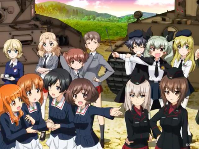 The second movie of Girls und Panzer Das Finale will premiere in June 2019