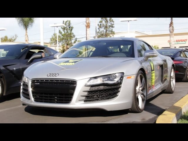 2014 Targa Trophy LA to Vegas Sports Car Festival in a Audi R8