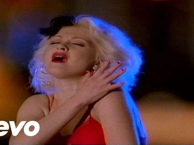 Cyndi Lauper — 'I Drove All Night'