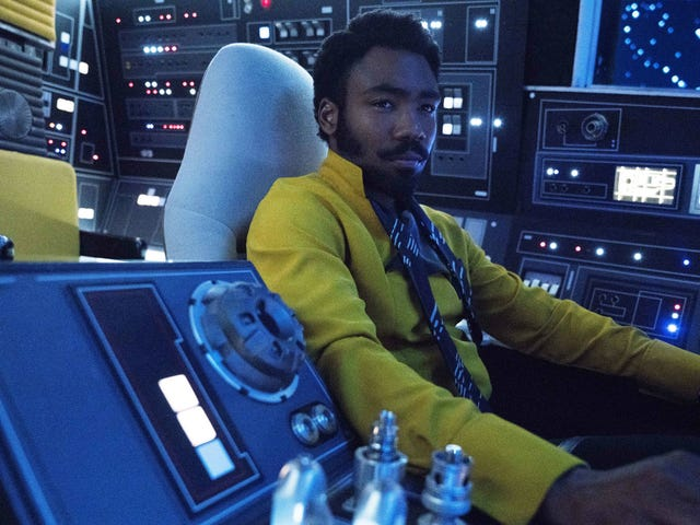 Lando Calrissian Has a Few Very Curious Mementos Aboard His Millennium Falcon