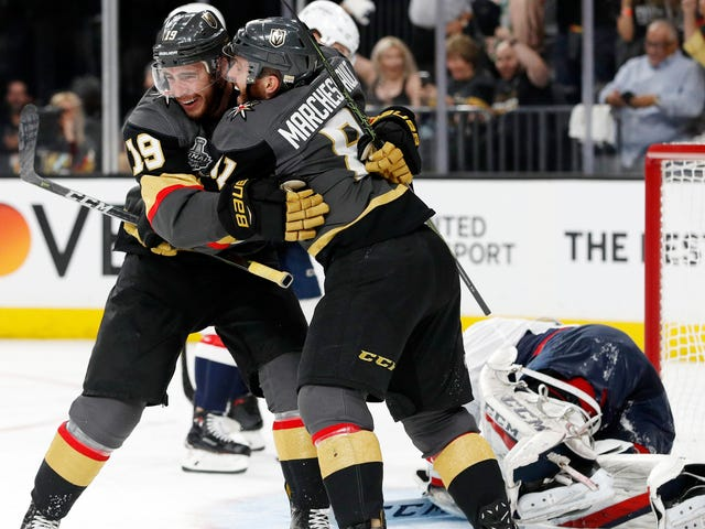 The Knights' Game 1 Win Was Batshit Crazy Vegas Style