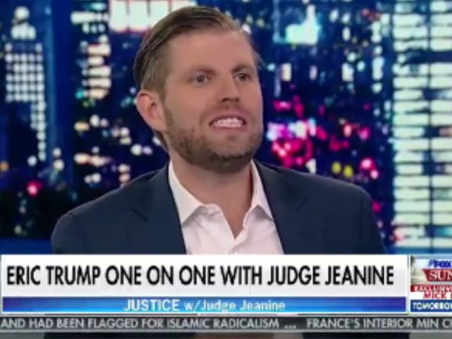 Eric Trump Stares Into the Void