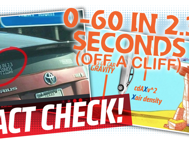 An Exhaustive Fact-Check Of That 0-60 In 2.3 Seconds (Off A Cliff) Sticker
